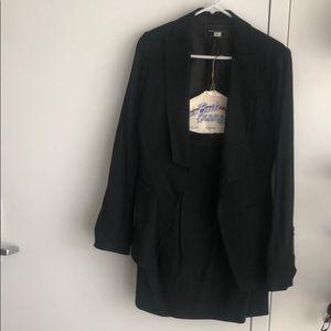 Black BCBG Max Azria skirt suit